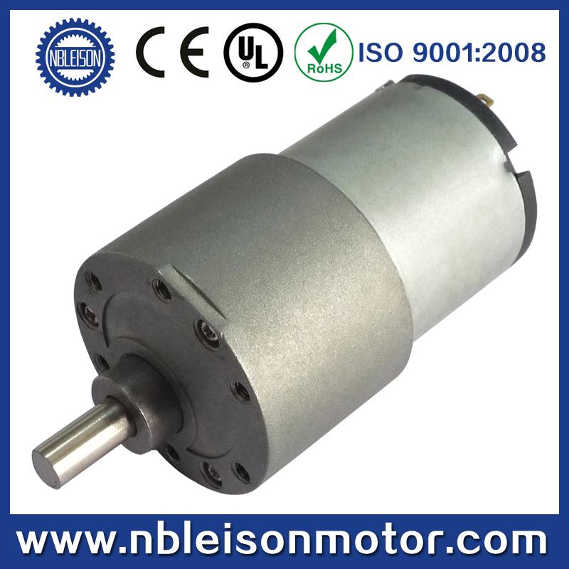 37mm TG38 Dc Gear Motor, 12V Dc Gear Motor 24V Dc Gear Motor